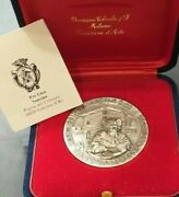 Jewish Italian Community Bible Hebrew Text In The Beginning Silver Medal