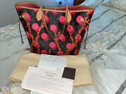 Authentic Louis Vuitton Neverfull Mm Monogram Ramages Tote Bag With Paperwork.