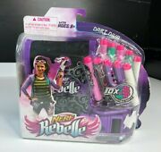 Nerf Rebelle Dart Diva Bag And Belt W/ 10 Colorful Darts For X-bow A4758 2013 Nib