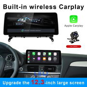 12.3 Ips Android Car Stereo Gps Car Auto Play 8-core For Bmw X3 X4 F25 F26 Cic