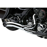 Harley Cobra Usa Turnout 21 Exhaust System 09-16 Touring Chrome