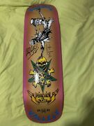 Mike Vallely X Possessed X Barnyard Gold Deck Signed By Vallely And Muir Rare