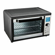 Hamilton Beach Digital Countertop Oven With Convection And Rotisserie, Model 31154