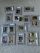 1997 Wwf Complete Set Every Rock Graded In Bgs Slab. 113 Bgs 9