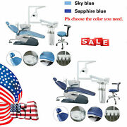 Dental Unit Chair Hard Leather Computer Controlled 2 Colors / 10handpiece R1a
