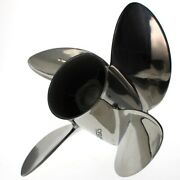 Evinrude Cyclone Boat Propeller 0763948   Ranger Rh 14 X 23p Stainless