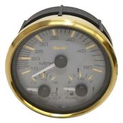 Faria Boat Multi-function Gauge Gs0036a   Signature Gold 4 1/4 Inch
