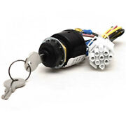 Rinker Boat Ignition Switch Ad-050-487 | Push To Choke 6 Terminal