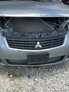 🔥09 10 11 12 Mitsubishi Galant Front Bumper Grille Grill Black And Chrome Oem