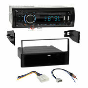 Concept Usb Sd Mp3 Bluetooth Stereo Dash Kit Harness For 2007-12 Nissan Sentra