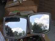 1950,60 Vintage Yankee 4060 Accessory Exterior Chrome Mirror Chevy Ford Olds