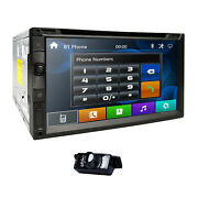 7car Stereo Radio Dvd Player Sony Lens Double Din Bluetooth Usb Swc Mirror Link