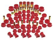 Prothane Total Suspension Bushing Kit Galant And Dsm Eclipse 95-99 Fwd / Awd Red