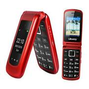3g Flip Phone Unlocked Dual Display Basic Cell Phones With Camera Christmas Red