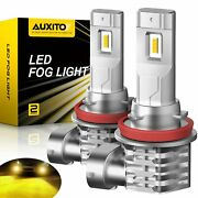 Auxito Gold Yellow H11 H16 H8 Led Fog Driving Light 4000lm 100w Bulb High Power