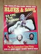 Blues And Soul Magazine 339 September 1981 B.b. King And Crusaders Lionel Richie