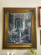 Large Antique Wood Picture Frame