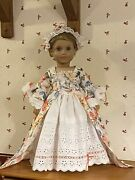 American Girl Elizabeth Cole Doll In Custom Gown By Dollicious Couture