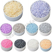 400pcs 3mm Round Czech Glass Spacer Loose Beads For Diy Handmade Jewelry Making