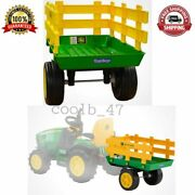 Truck Side Trailer Tractors Removable Extra-large Cargo Area Childrenand039s Toy Play