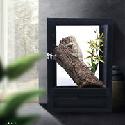 Large Tank Cage Reptile Pet Enclosure Lizard Spider Insect Mesh Screen Cage New