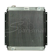 Water Tank Radiator Core Assy Compatible With Kato Excavator Hd800-7