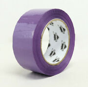 1368 Rolls Color Carton Sealing 2 Mil Packing Box Tape 2x110yd 38 Cases -purple