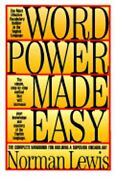 Word Power Made Easy By Norman Lewis New