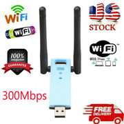 300mbps Dual Band 2.4ghz Wireless Internet Usb Wifi Network Antenna Adapter D5s9