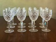 Waterford Comeragh Lead Crystal 12 Goblets, 12 Clarets, 2 Chmpne, Pitcher, Vase