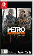 Metro Redax Double Pack Nintendo Switch Japan/ English/russian Tracking New