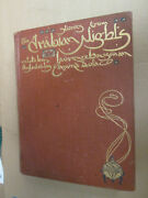 Edmund Dulac Stories From Arabian Nights Vintage Illustrated Book 1907