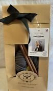 Stitchandstory Cable Coo Hat Knitting Kit W/2x100g Ball Chunky Grey Wool Yarn New