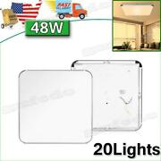 20x 48w Led Ceiling Light Warm White Indoor Ultra Thin Flush Mount Home Fixtures