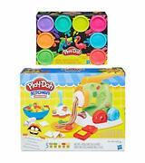Pd Play Doh Kitchen Creations Noodle Makinand039 Mania + Play Doh 8 Pack Neon Compoun
