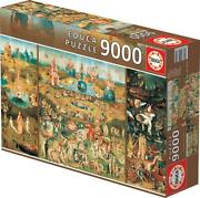 New Educa Jigsaw Puzzle 9000 Pieces Tiles The Garden Of Earthly Delights