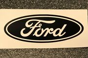 Ford Logo Vinyl Sticker Decal 4 6 8 12 16 20 24 Multiple Colors