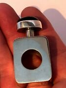 Fab Vintage Mexico Sterling Silver Mid Century Style Silver Perfume/scent Bottle