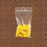 Resealable Poly Bag With Hang Hole 10 X 12 10000 Pack 4 Mil Reclosable Bags