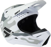 2022 Shift Youth White Label Camo Helmet - Motocross Dirtbike Offroad Adult