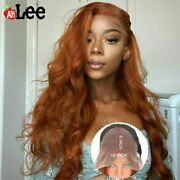 Lace Frontal Wig Pre Plucked Transparent Body Wave Lace Front Human Hair Wigs