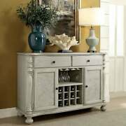 The Gray Barn Louland Falls Rustic 52.75-inch Storage Dining Antique White 52 3/