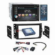 Planet Audio Dvd Stereo Dash Kit Bose Wire Harness For Chevrolet Pontiac Saturn