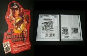 Original Eagle Has Landed Theatre Display Used One Sheet Caine Duvall Sutherland