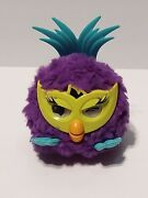 2012 Hasbro Fussby Furby Party Rockers Electronic Purple Green Blue Works