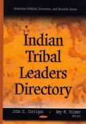 Indian Tribal Leaders Directory Hardcover By Corrigan John D. Edt Volmer...