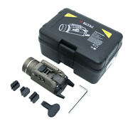 Rail-mounted Tactical Flashlight Flat Replacement For Tlr-1 Hl