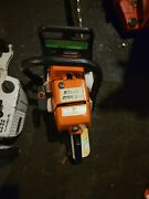 Stihl Chainsaw 036 Used Running Saw With Quick Stop
