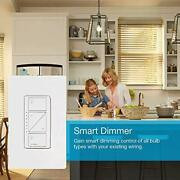 Lutron Caseta Wireless Smart Dimmer Switch For Wall And Ceiling, Pd-6wcl-la, Light