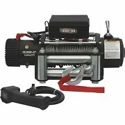 Ironton 12v Dc Powered Electric Truck Winch- 12,000-lb Cap Galvanized Wire Rope
